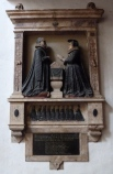 8 - Memorial to Francis Rame (d. 1617), his wife and their twelve children
