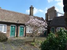 Bishop Wood's Alms-Houses (detail)