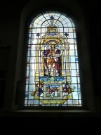 4 - Stained-glass window depicting St Magnus