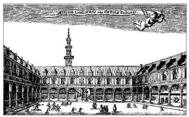 1 - The old Royal Exchange