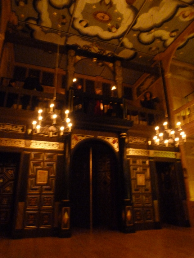 15 - Wanamaker Playhouse (inside reconstructed Globe), a model for the Blackfriars Theatre