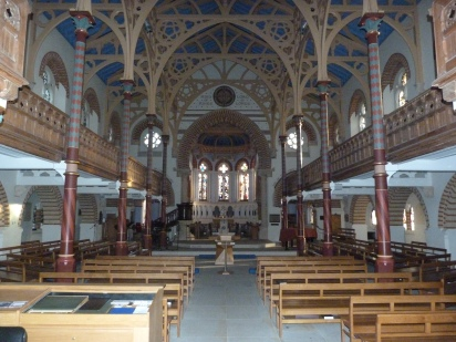 2 - General view of interior looking towards altar