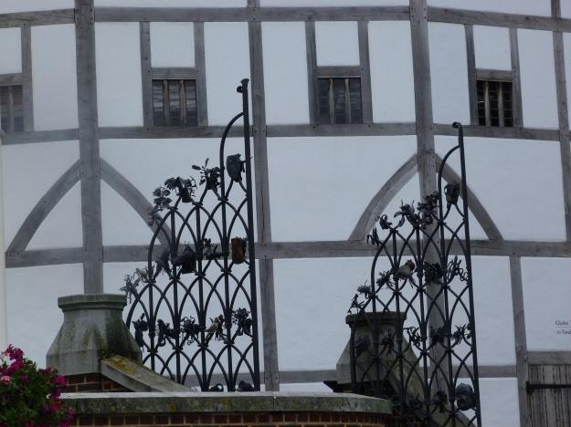 5 - Wrought-iron gates
