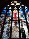 6 - Execution of Catholics at Tyburn (stained-glass window in St Etheldreda's)