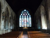 7 - Effigies to Catholic martyrs in St Etheldreda's
