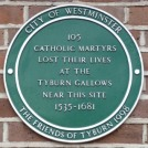 8 - Memorial to Catholic martyrs at Tyburn