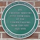 8 - Memorial to Catholic martyrs at Tyburn