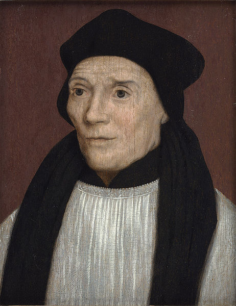 Fisher, as portrayed by Holbein