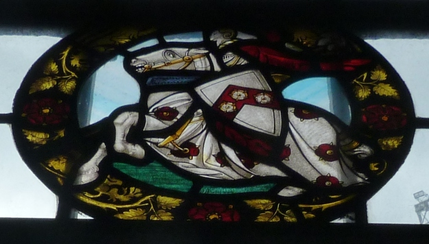 Knollys window, church of All Hallows