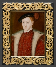 The boy-king Edward VI, as portrayed by Scrots (1551)