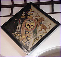 4 - Nelson funeral hatchment (early nineteenth- century)