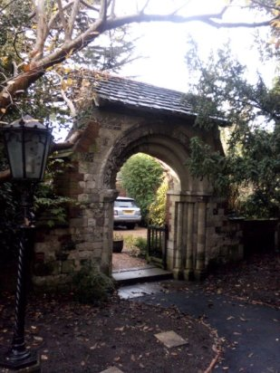 6 - Norman arch from Merton Priory