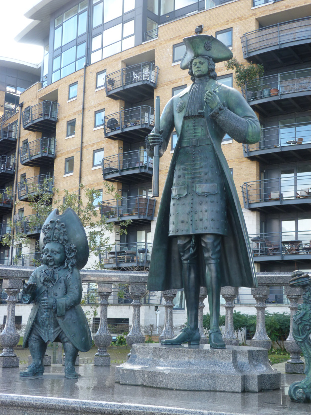 statue-of-peter-the-great-and-friend-deptford