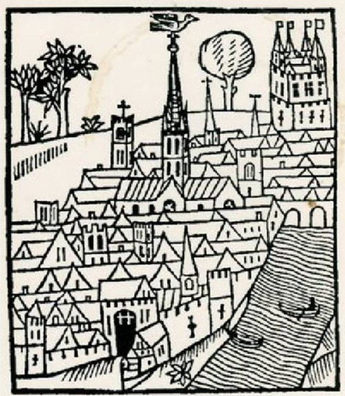 woodcut-of-norman-london-from-a-recent-edition-of-fitzstephens-book-e1404912782503