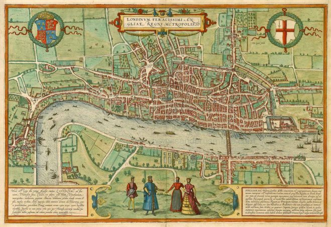 Braun & Hogenberg map (1572)
