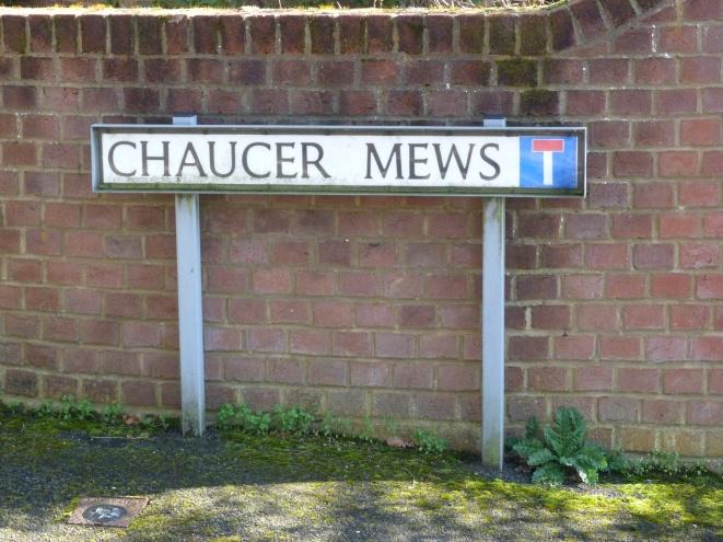 Chaucer mews.JPG