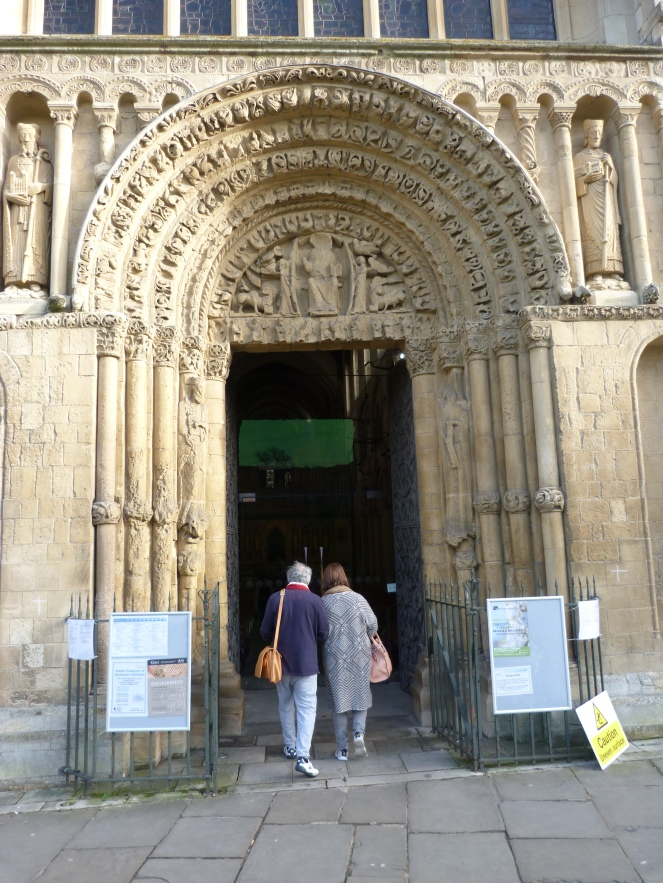 Entrance to Rochester Cathedral.JPG