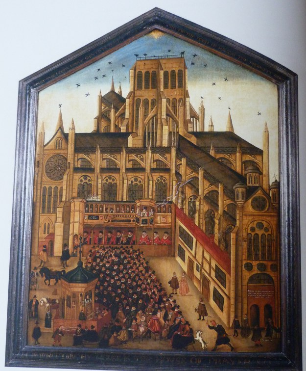 1-left-panel-of-society-of-antiquaries-diptych-1616-showing-old-st-pauls-without-spire