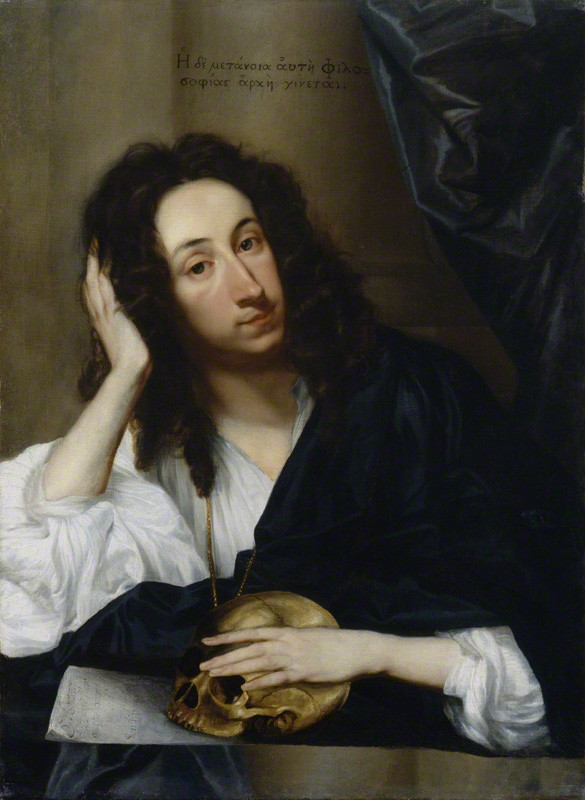NPG 6179; John Evelyn by Robert Walker