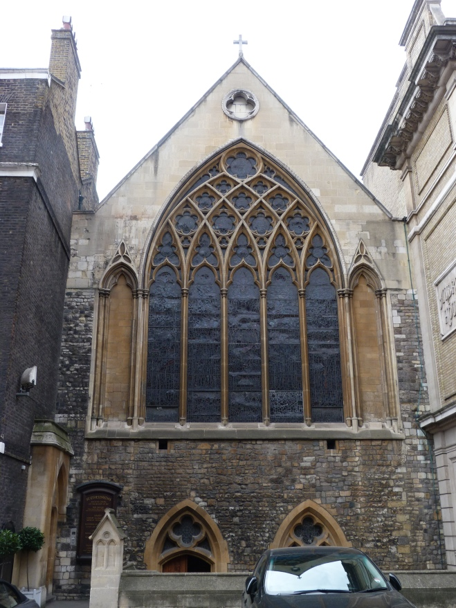 1 - The decorated Gothic exterior of the church of St Etheldreda.JPG