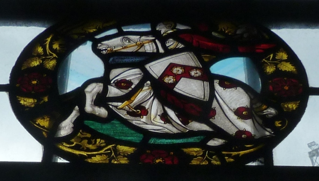 Knollys window, church of All Hallows.JPG