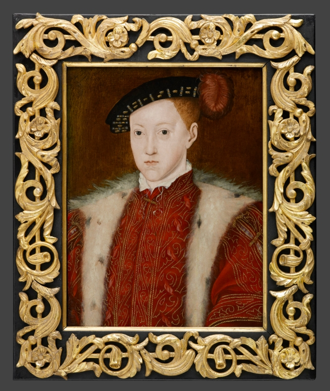 The boy-king Edward VI, as portrayed by Scrots (1551).jpg
