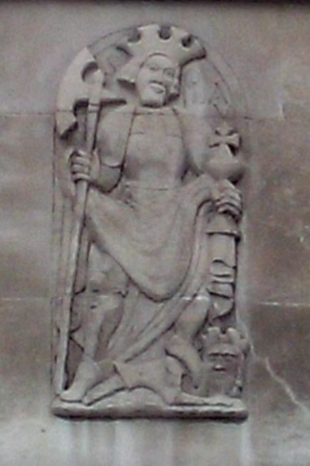 5 - Relief of St Olav, church of St Olave Hart Street