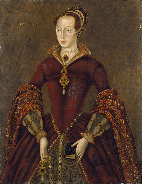 The so-called Streatham Portrait, believed to be a copy of a contemporary portrait of Lady Jane Grey