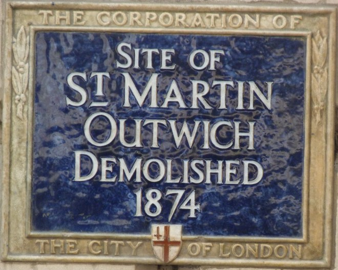 St Martin Outwich