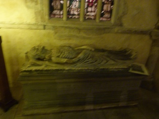 Memorial to Prior Weston (d. 1540).JPG