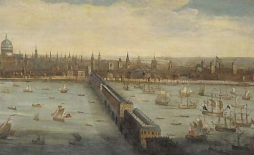 3 School_View-of-the-River-Thames-and-the-City-of-London-taken-from-the-South-Bank-at-Southwark-with-old-London-Bridge-and-the-Pool-of-London