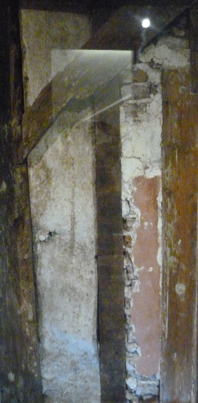 3 - In situ fragment of Medieval wall.JPG