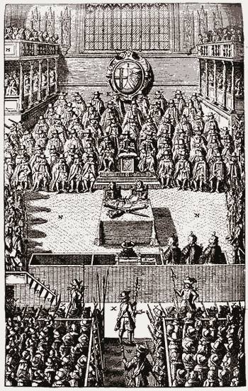 3 - Trial of Charles I in Westminster Hall (1649)