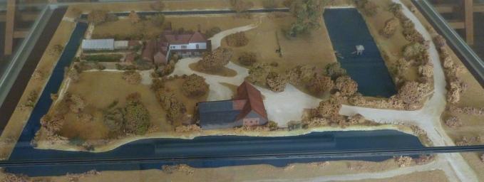 5 - Model of Valence House.JPG