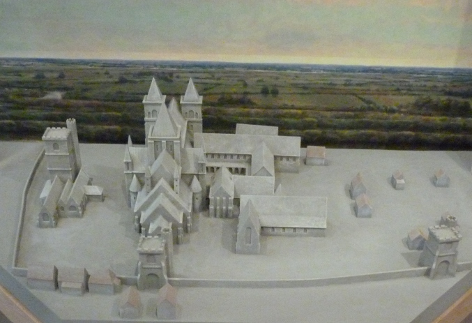 6 - Model of Barking Abbey.JPG