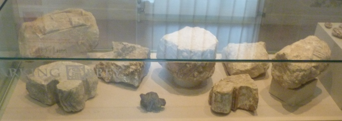 7 - Moulded stones from Barking Abbey.JPG