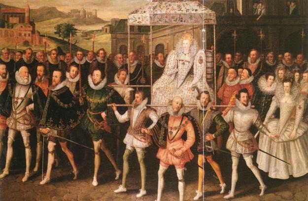 Elizabeth I's Coronation Procession