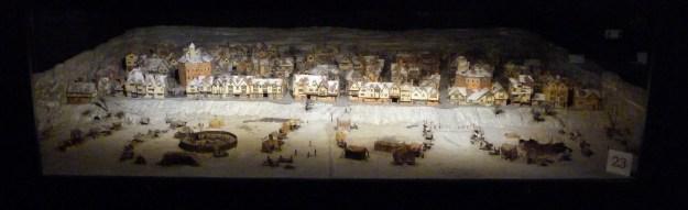 Frost fair diorama, Globe Theatre