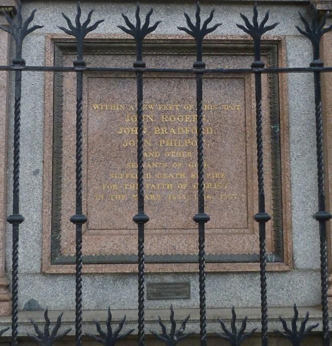 Protestant martyrs plaque, West Smithfield - Copy.JPG