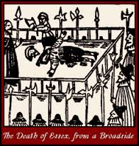 The death of Essex from a broadside