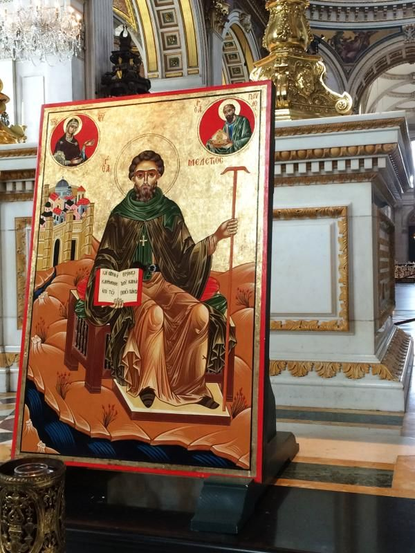 1 - Iconic image of Mellitus, St Paul's Cathedral, London