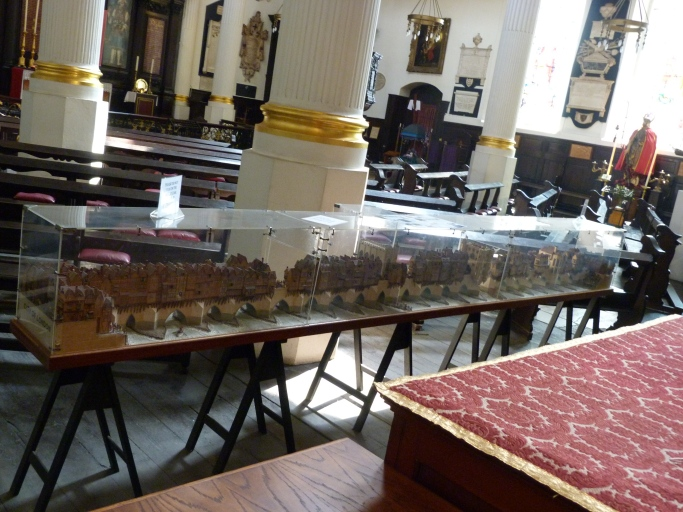 8 - Scale-model of Old London Bridge.JPG