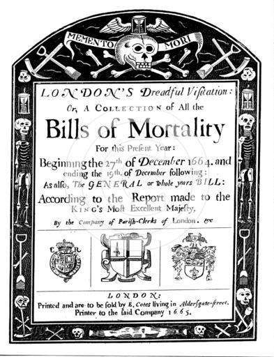Bills of Mortality 1