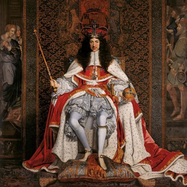 Charles II coronation portrait by John Michael Wright