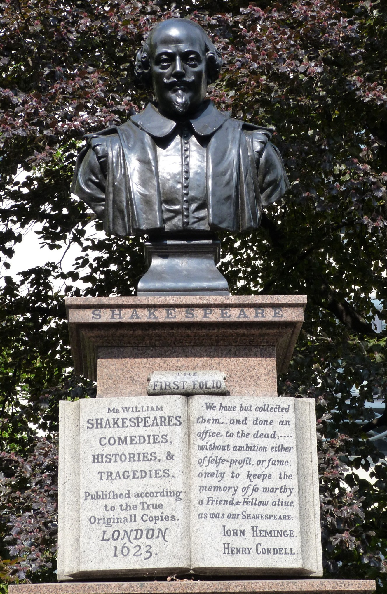 Shakespeare, Aldermanbury Square.JPG