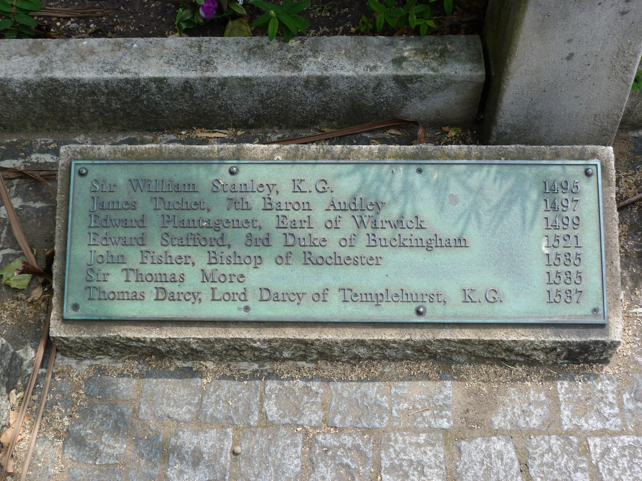 Site of execution, Tower Hill.JPG