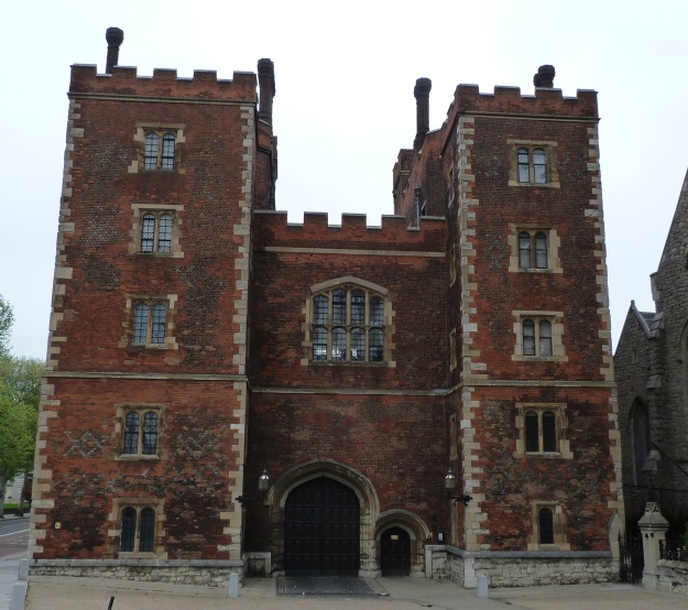 2 - Entrance to Lambeth Palace.JPG