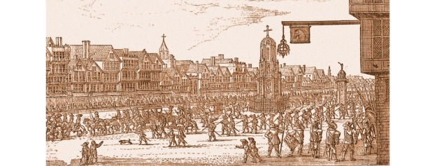 Cheapside-procession-of-Marie-de-Medici-1638-sepia-resized