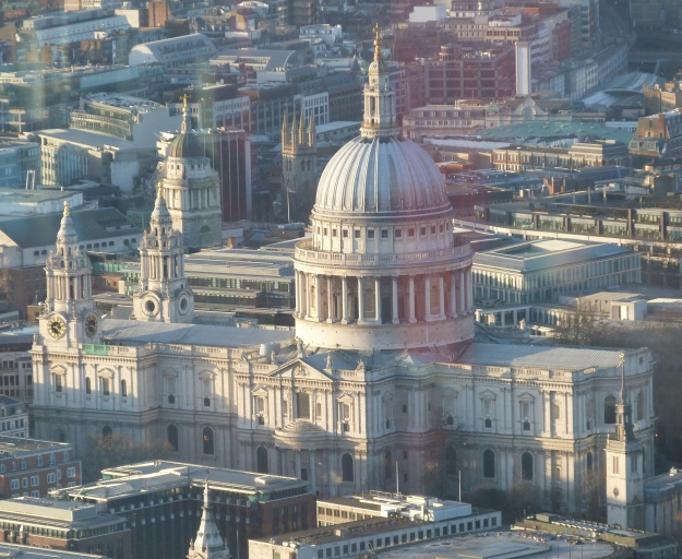 2 - The south side of St Paul's from the Shard.JPG
