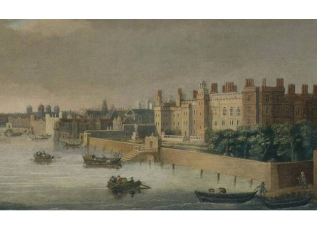 Somerset House (Cornelis Bol, c. 1650)